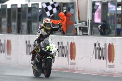 Il vincitore della gara Dominique Aegerter, Kiefer Racing