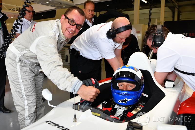 Jonathan Noble, David Saelens, F1-Doppelsitzer