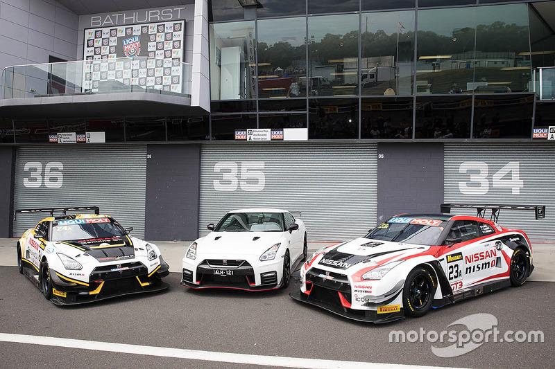 Nissan Motorsport, sesión de fotos de grupo Nissan GT-R Nismo GT3