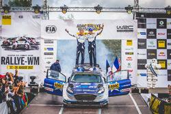 Rally winners Ott Tänak, Martin Järveoja, Ford Fiesta WRC, M-Sport