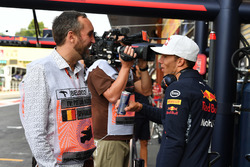 Franck Montagny, Pierre Gasly, Red Bull Racing Test Driver