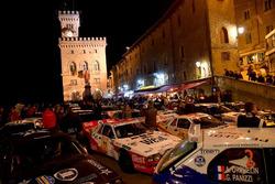 Le auto in mostra a San Marino