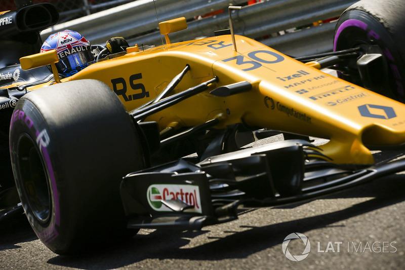 14 місце — Джоліон Палмер, Renault. Умовний бал — 7,432