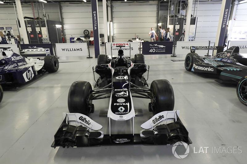 Williams FW34 Renault 2012 года