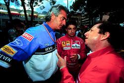 Flavio Briatore, Benetton, Jean Todt, Ferrari, Jean Alesi, Ferrari