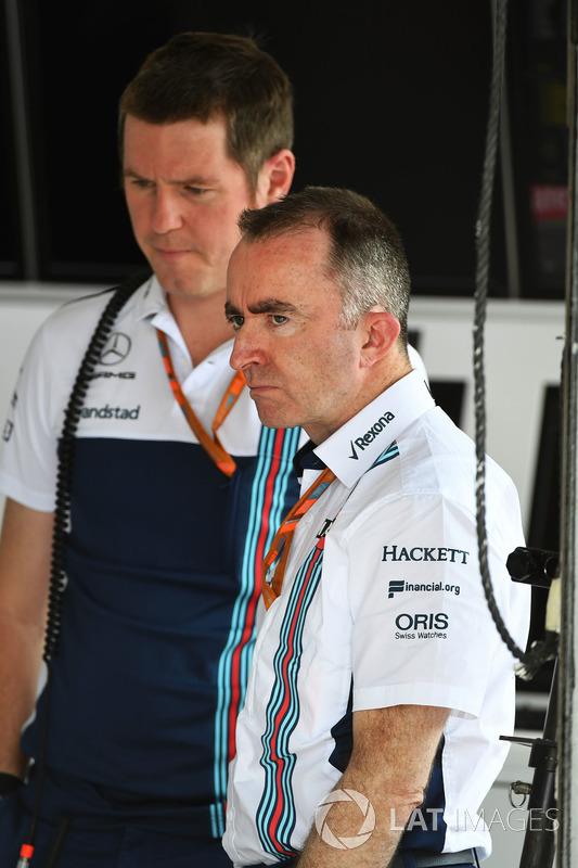 Paddy Lowe, Director técnico y accionista de Williams