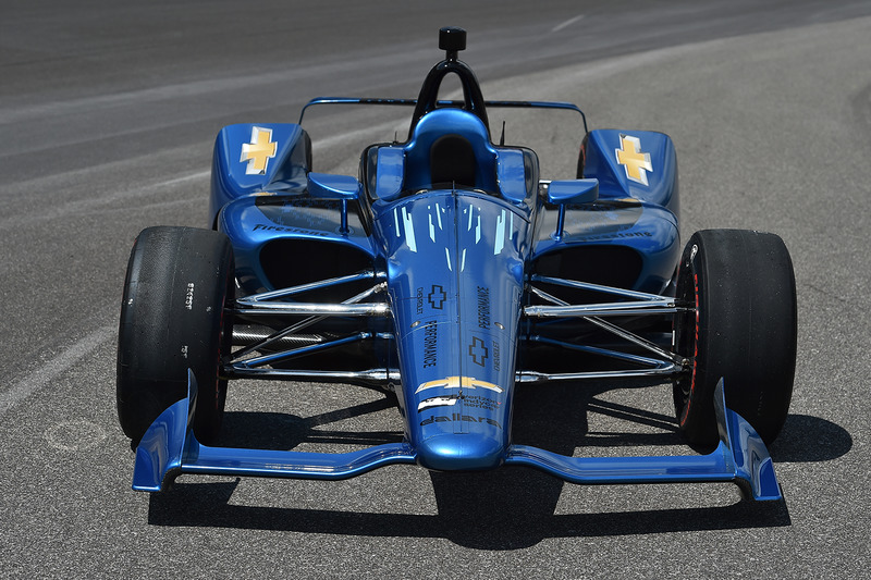 Машина Chevrolet IndyCar 2018 года