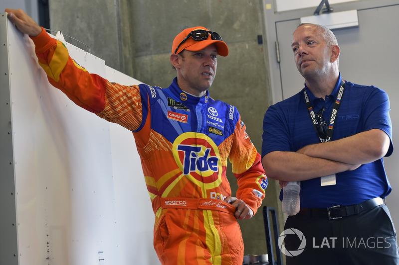Matt Kenseth, Joe Gibbs Racing Toyota, Andy Graves