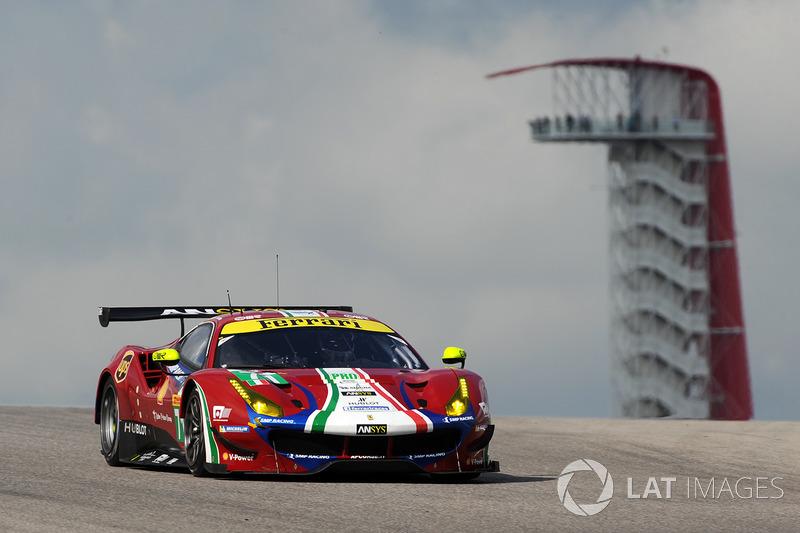 3. GTE-Pro: #71 AF Corse, Ferrari 488 GTE