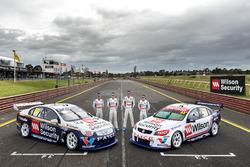 Garth Tander, James Golding, James Moffat, Richard Muscat, Garry Rogers Motorsport Holden