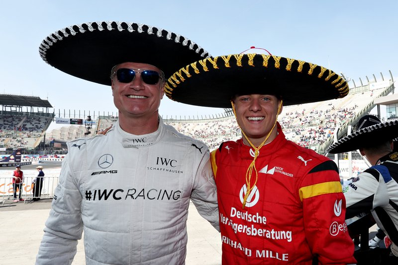 David Coulthard, Mick Schumacher