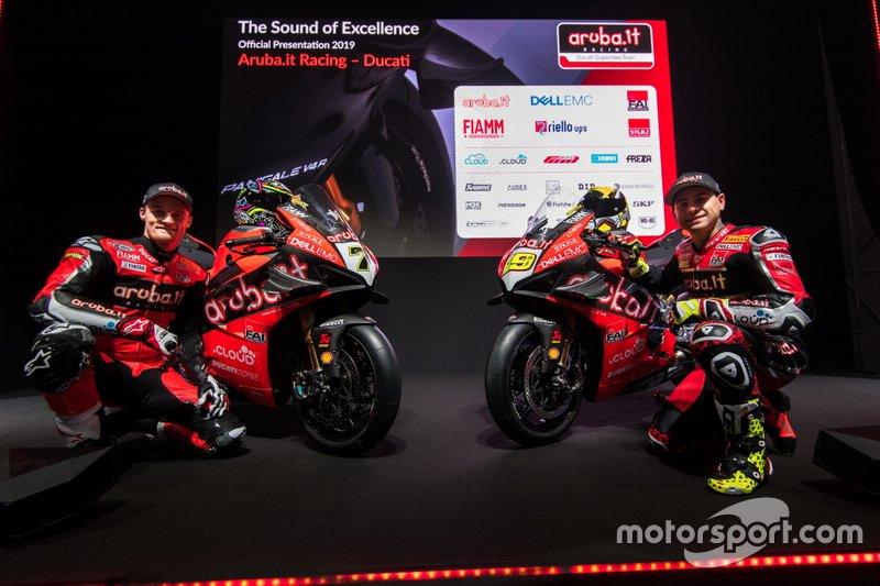 Чаз Девіс, Альваро Баутіста, Aruba.it Racing-Ducati SBK Team