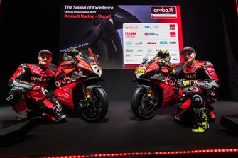 Chaz Davies, Alvaro Bautista, Ducati Team