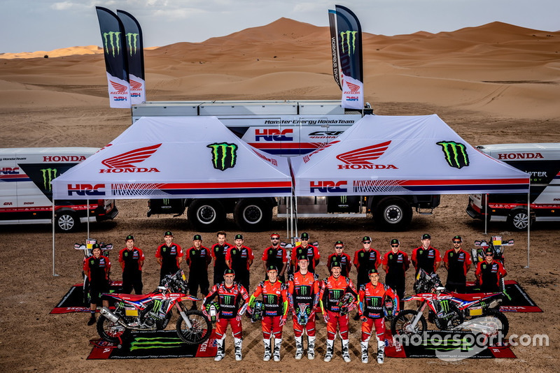 Monster Energy Honda Team tanıtımı