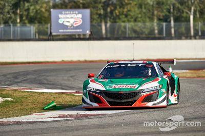 Test Honda NSX GT3 Marco Bonanomi