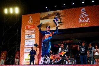 Podium : KTM : Matthias Walkner