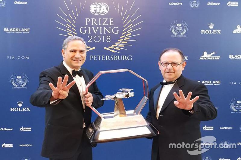 Alejandro Soberón y Federico González Compeán, Mexico GP