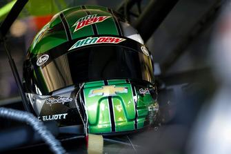 Chase Elliott, Hendrick Motorsports, Chevrolet Camaro Mountain Dew, helmet