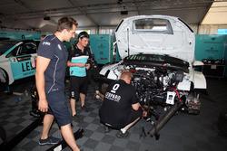 La voiture de Rob Huff, Leopard Racing Team WRT, Volkswagen Golf GTi TCR