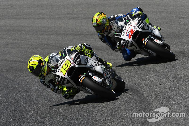 Alvaro Bautista, Aspar MotoGP Team; Karel Abraham, Aspar Racing Team