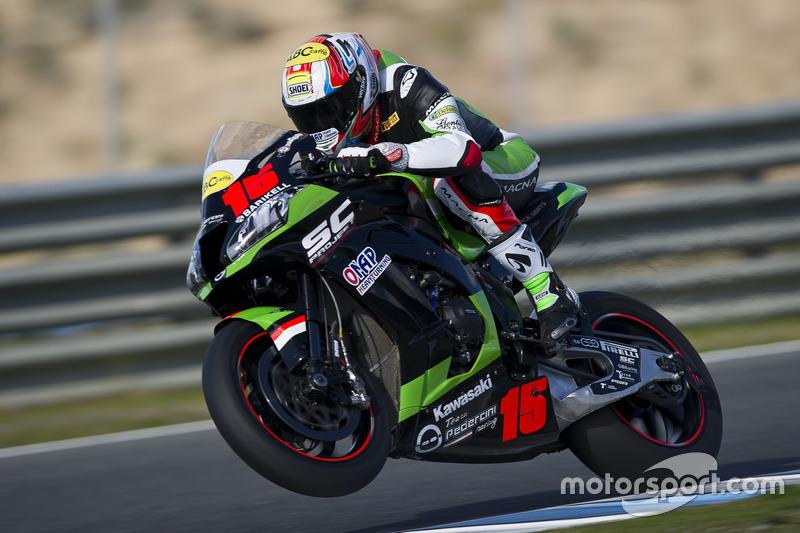 Alex de Angelis, Pedercini Kawasaki