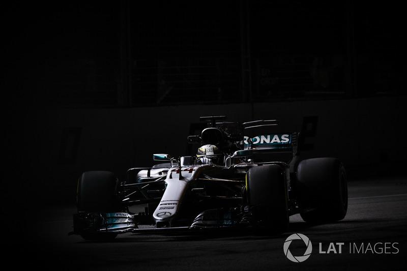 5. Льюіс Хемілтон, Mercedes AMG F1 W08