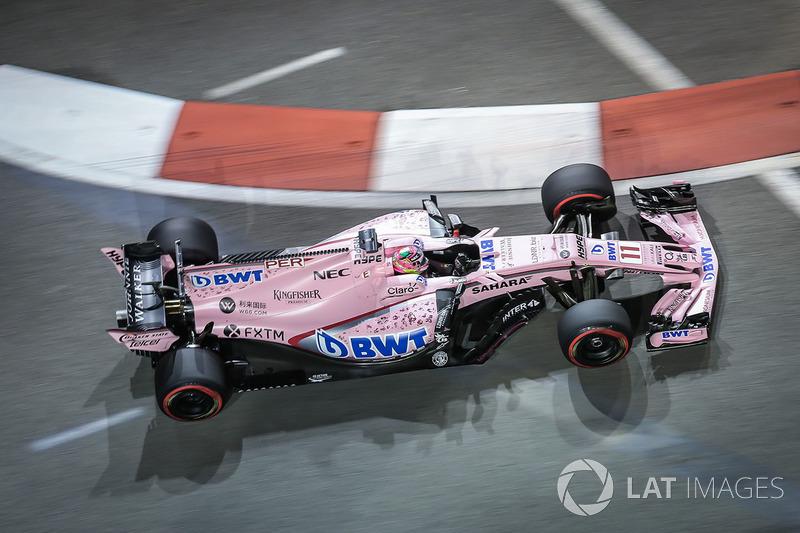 12. Sergio Perez, Sahara Force India VJM10