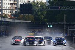Toomas Heikkinen, EKS, Audi S1 EKS RX Quattro, Mattias Ekström, EKS, Audi S1 EKS RX Quattro, Petter