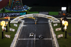 Team USA NASCAR Kurt Busch, beats Team USA IndyCar Ryan Hunter-Reay, driving the KTM X-Bow Comp R