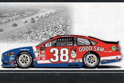 Throwback-Design: David Ragan, Front Row Motorsports Ford