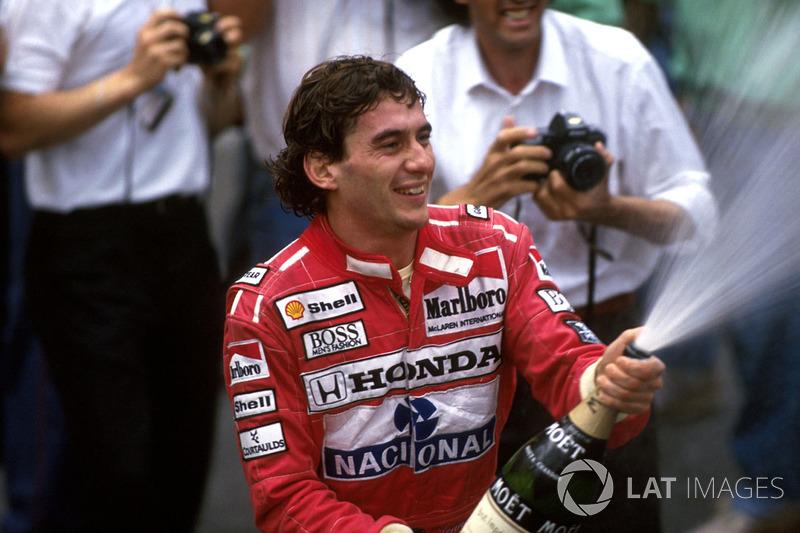 6 раз Гран При Монако выигрывал Айртон Сенна
