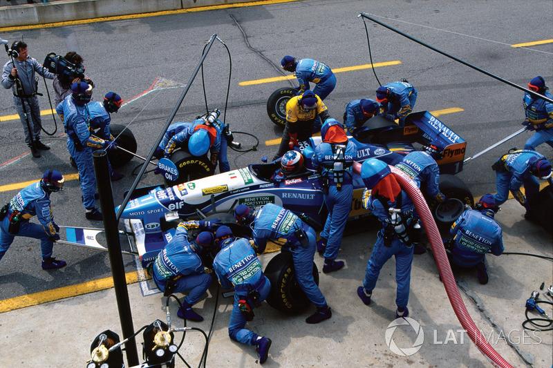 1995 İspanya GP, Benetton B195
