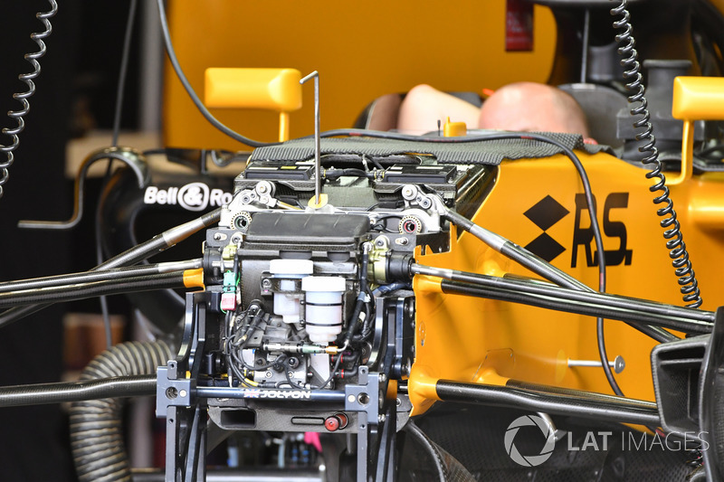 Renault Sport F1 Team RS17: Vorderrad-Aufhängung