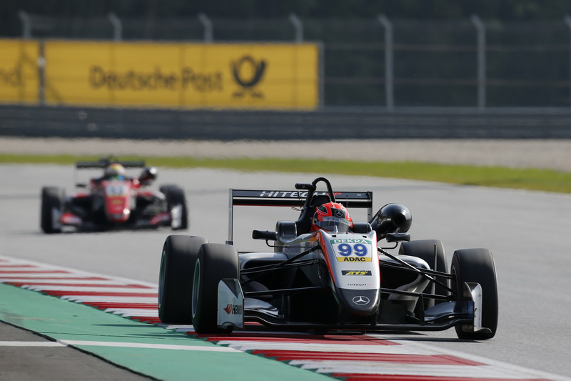 Nikita Mazepin, Hitech Grand Prix, Dallara F317 - Mercedes-Benz
