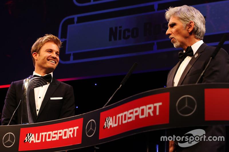 Campeón del Mundo, Nico Rosberg, Mercedes AMG F1, Damon Hill