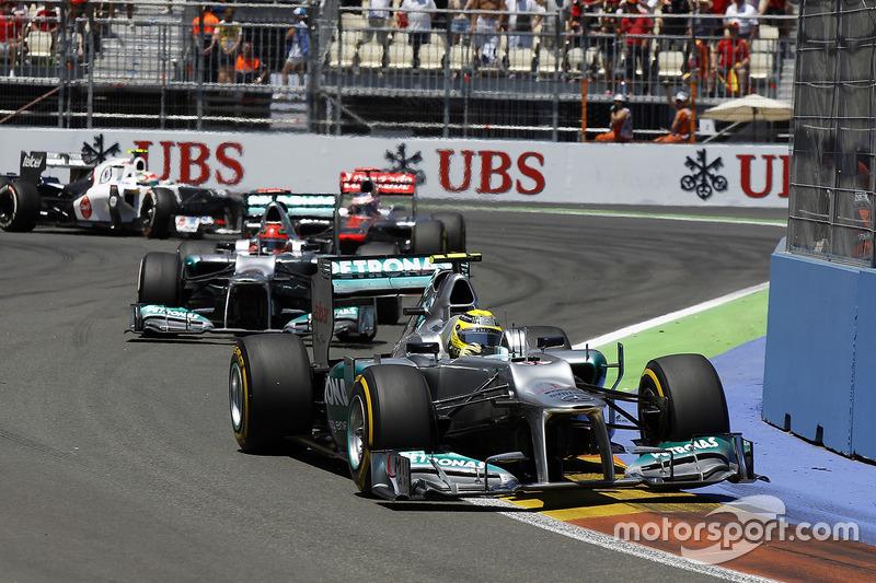 Nico Rosberg, Primera vuelta de carrera más rápida de Mercedes AMG F1 - Euopa 2012
