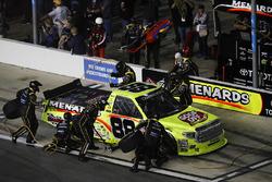 Matt Crafton, ThorSport Racing Toyota, pit stop