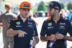 Max Verstappen, Red Bull Racing et Daniel Ricciardo, Red Bull Racing