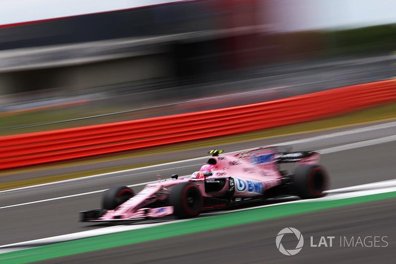 7. Естебан Окон, Sahara Force India F1 VJM10