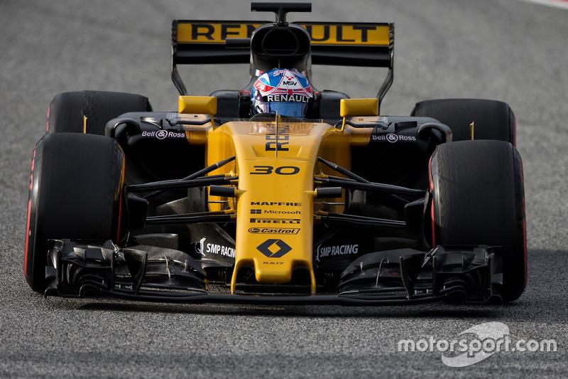 Джолион Палмер, Renault (номер 30)