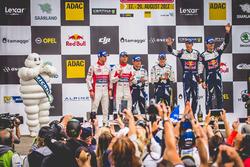 Podium: tercero, Sébastien Ogier, Julien Ingrassia, Ford Fiesta WRC, M-Sport