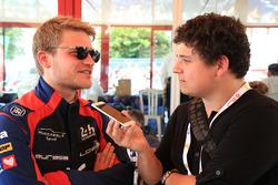 Pierre Nicolet, Eurasia Motorsport avec Guillaume Nedelec, journaliste Motorsport.com