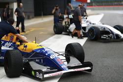 Karun Chandhok, Williams FW14B Renault, Paul di Resta