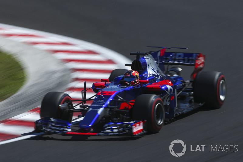 17 місце — Данііл Квят, Toro Rosso — 6