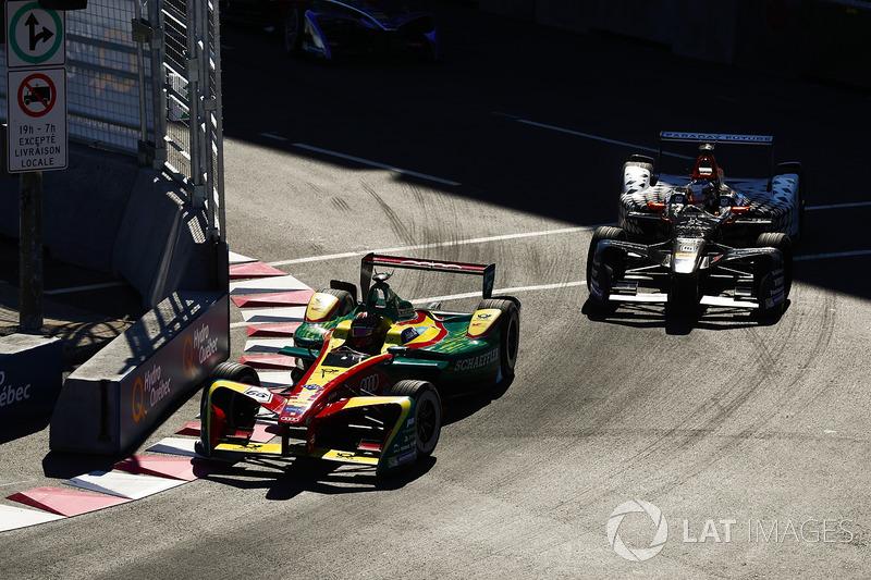Daniel Abt, ABT Schaeffler Audi Sport, y Jérôme d'Ambrosio, Dragon Racing