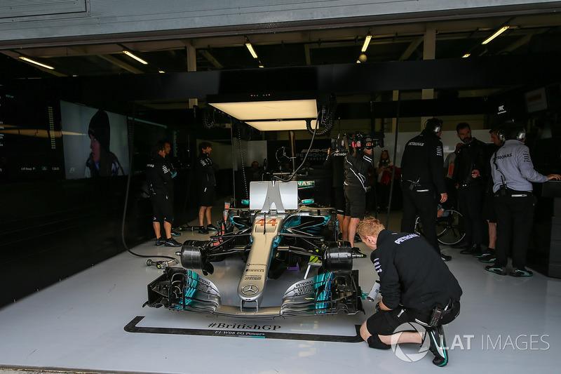 Mercedes-Benz F1 W08 Льюіса Хемілтона