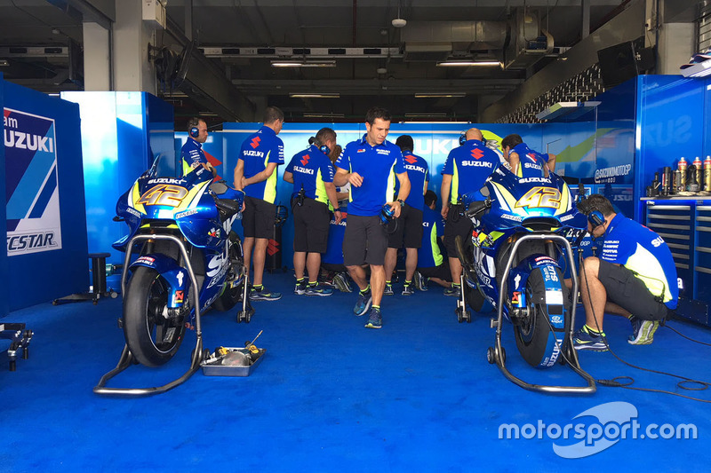 Bikes of Alex Rins, Team Suzuki MotoGP