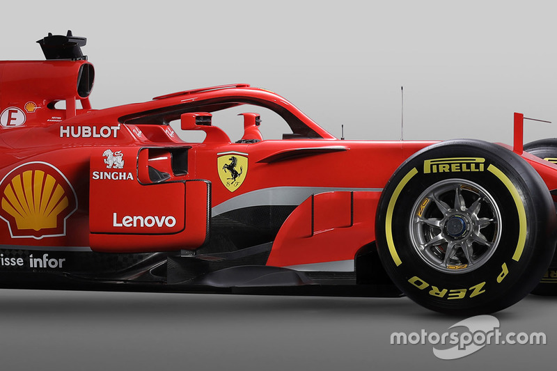 Ferrari SF71H halo detail