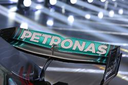 Mercedes AMG F1 W09 arka kanat detay