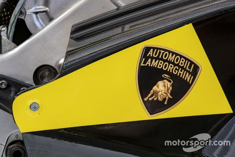 La speciale livrea Lamborghini della Pramac Racing